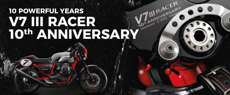 Moto Guzzi V7 Ⅲ Racer 10th Anniversary