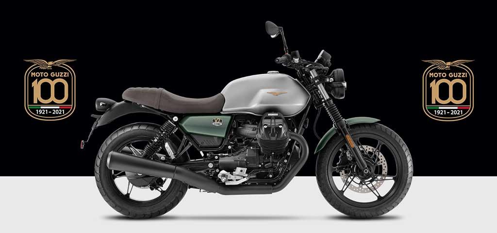 Moto Guzzi V7 Stone 100周年記念車
