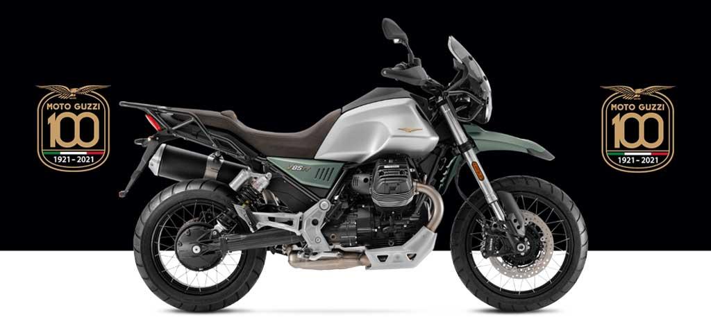Moto Guzzi V85 TT CENTENARIO 100周年記念カラー